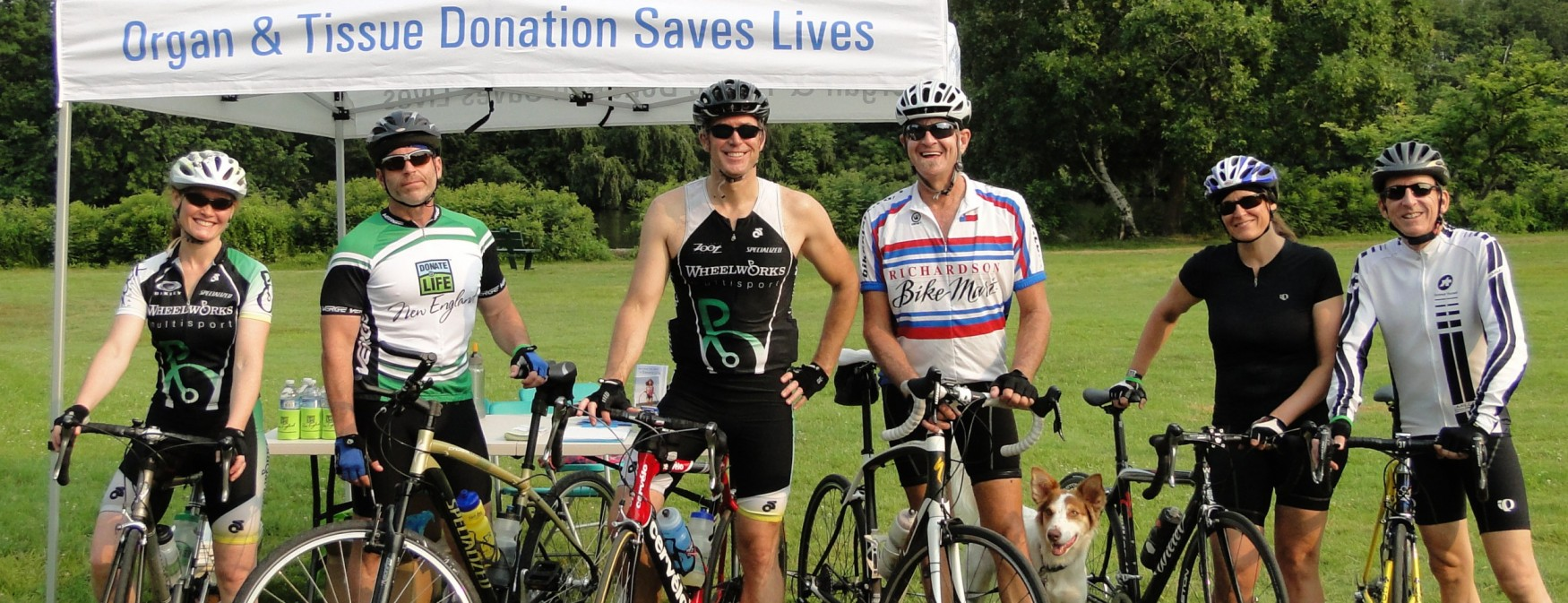 Cycling for Donation Awareness